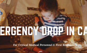 Emergency Child Care Openings for Critical Medical Personnel & First Responders