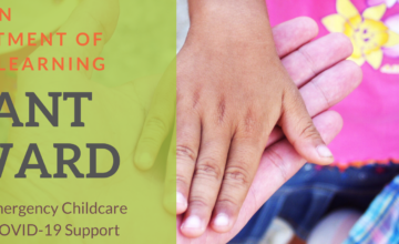 COBB CHILDREN'S LEARNING CENTER RECEIVES $14,040 EMERGENCY CHILDCARE GRANT FOR COVID-19 SUPPORT