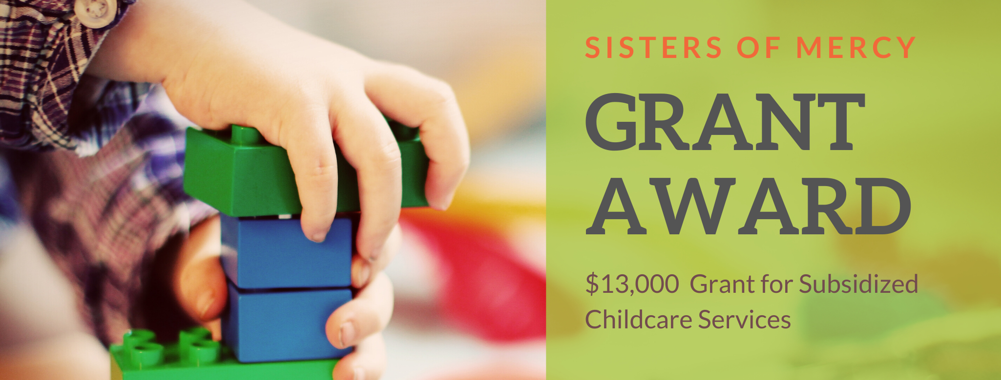 FOR IMMEDIATE RELEASE For more information, contact: Jessica Gaul Executive Director 541-957-1008 Jessicag@cobbschool.org   COBB CHILDREN'S LEARNING CENTER RECEIVES $13,000 GRANT TO SUBSIDIZE CARE FOR DOUGLAS COUNTY FAMILIES Roseburg, Oregon (07.21.20) — Cobb Children's Learning Center has received a $13,000 grant from the Sisters of Mercy to support its subsidized care program at Cobb Childcare […]